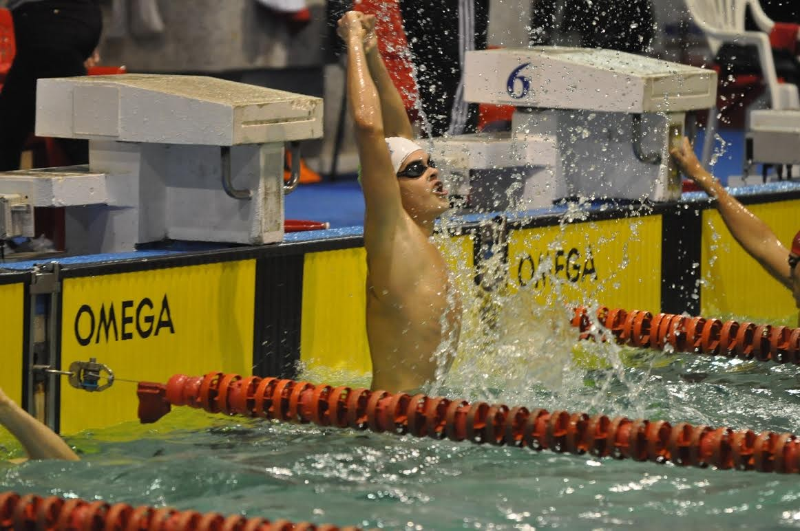 Robert Glință a stabilit un nou record național