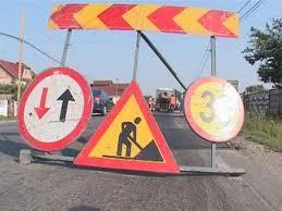 Restricţii de circulaţie în zona Albota
