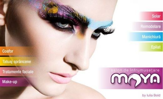 Fii frumoasă cu Maya Beauty Salon!