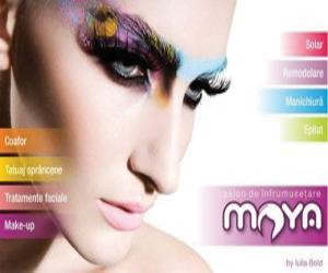 Răsfață-te și fii frumoasă cu  Maya Beauty Salon