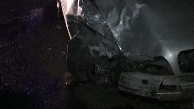 Mașina unui fotbalist argeșean lovită în mers de o alta