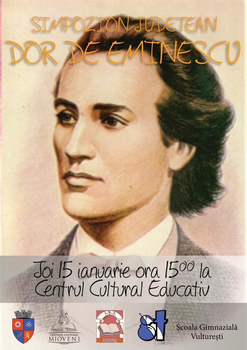"""Dor de Eminescu"", LA MIOVENI"