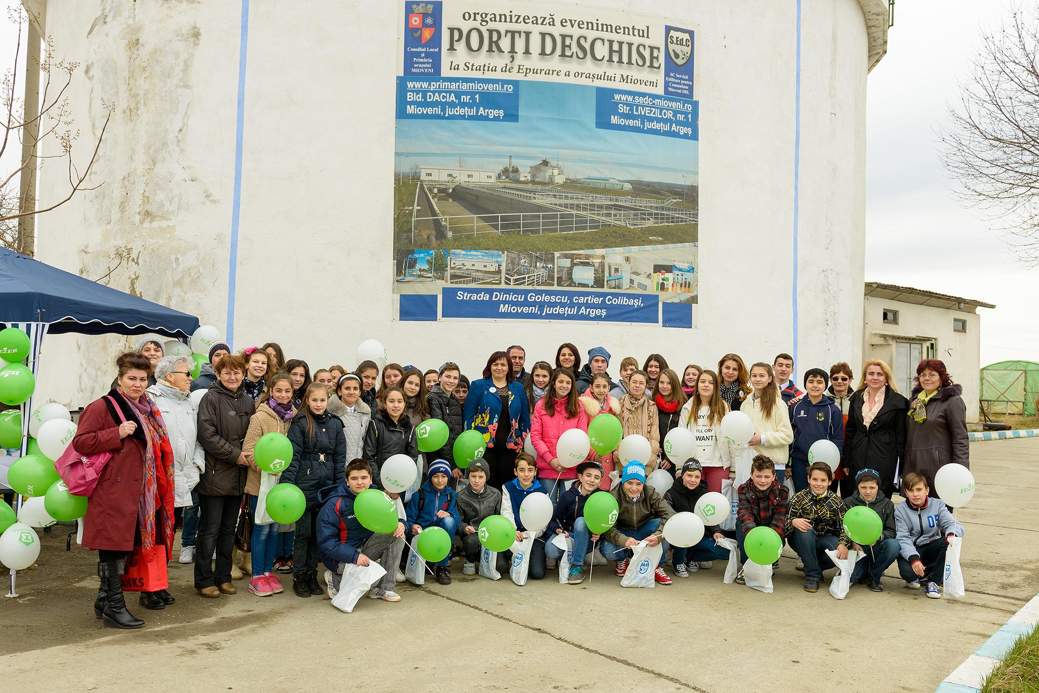 Ziua Mondială a Apei , celebrată la Mioveni!