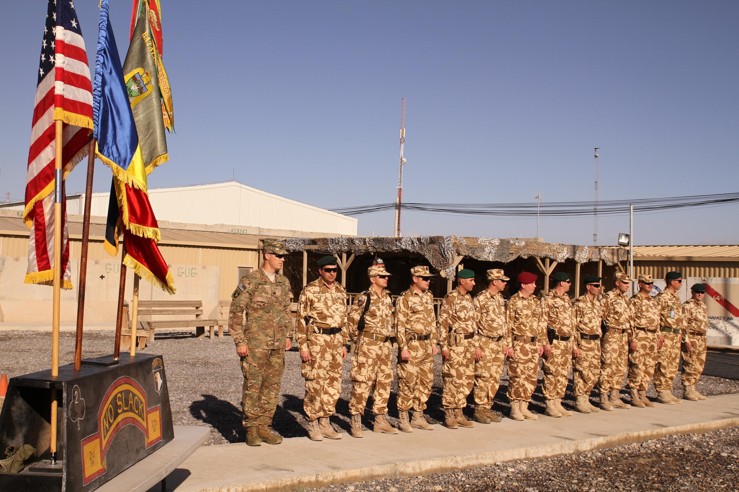 Militarii argeşeni au scăpat cu bine din explozie