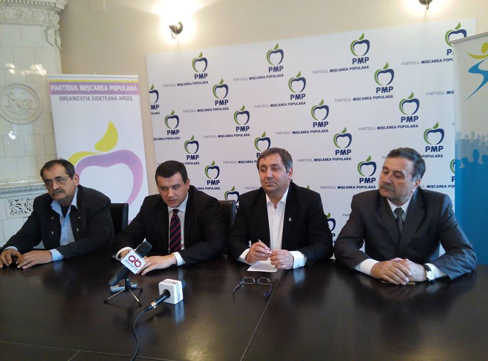 Președintele PMP Eugen Tomac în vizită la organizația PMP Pitești