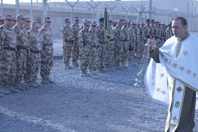 Ziua Independenţei de Stat a României sărbătorită în Afganistan