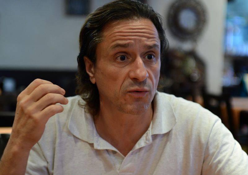 Claudiu Bleonţ, profesor de teatru la Centrul Cultural Mioveni