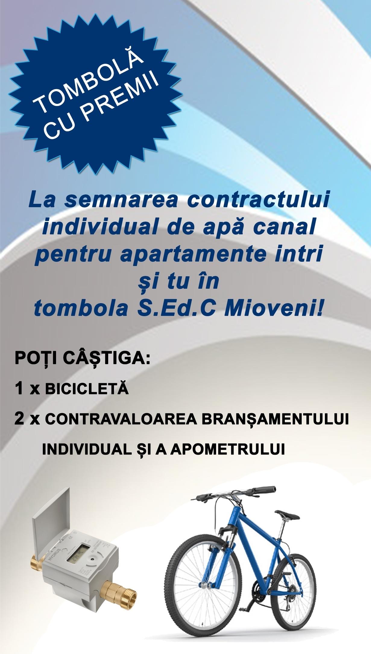 Mai multe şanse de câştig la concursul  S.C. Servicii Edilitare Mioveni
