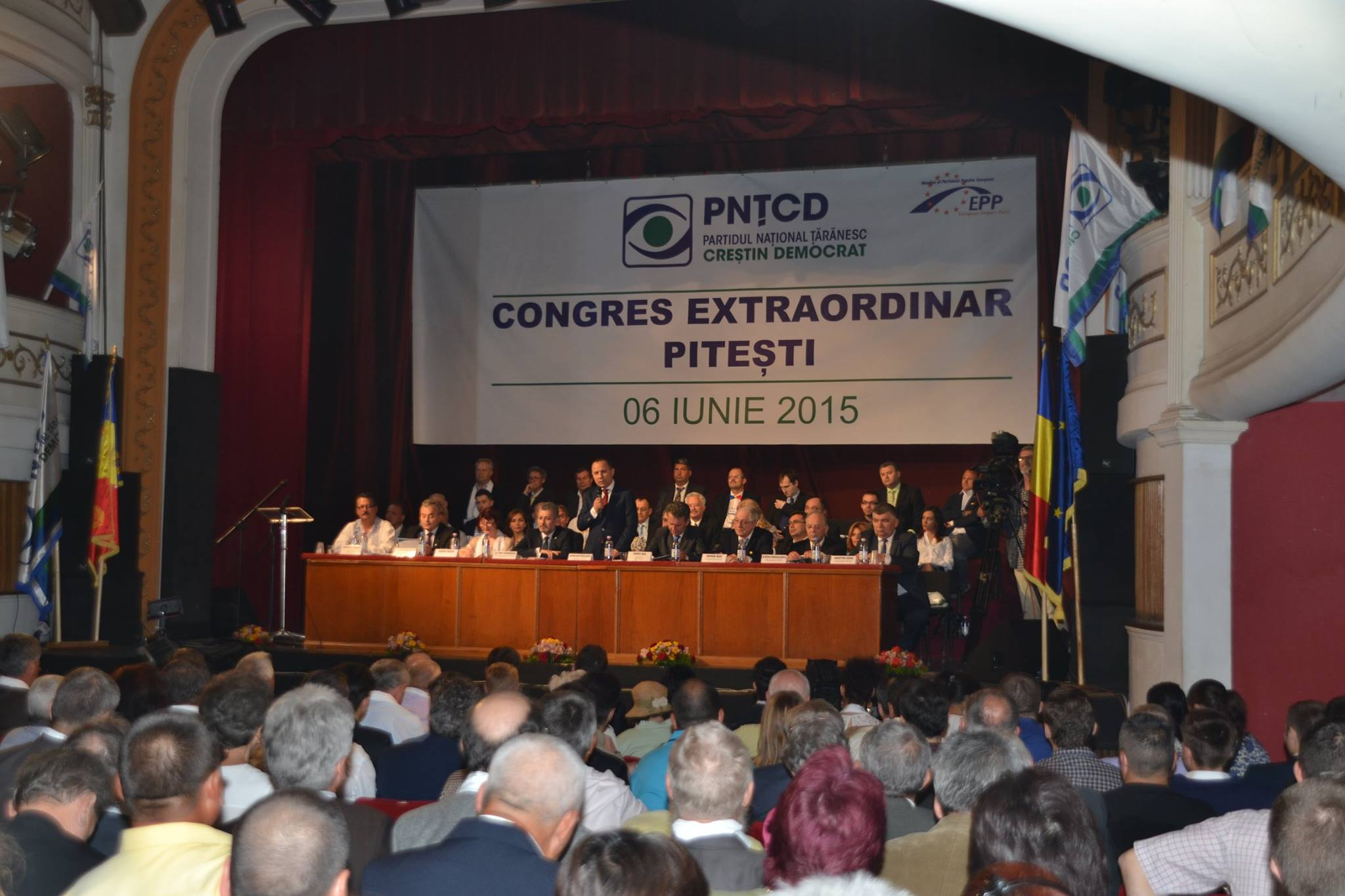 Congresul Extraordinar al Partidului Național Țărănesc Creștin Democrat la Piteşti