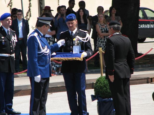 România, prin Jandarmeria Română, a prezidat Ceremonia de schimbare a comandantului EUROGENDFOR