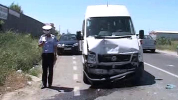 Accident cu 9 răniţi pe DN 65 B Piteşti-Slatina