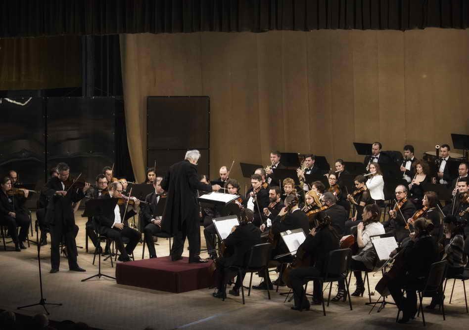 Concert pentru doi corni și orchestră la Filarmonica Pitești