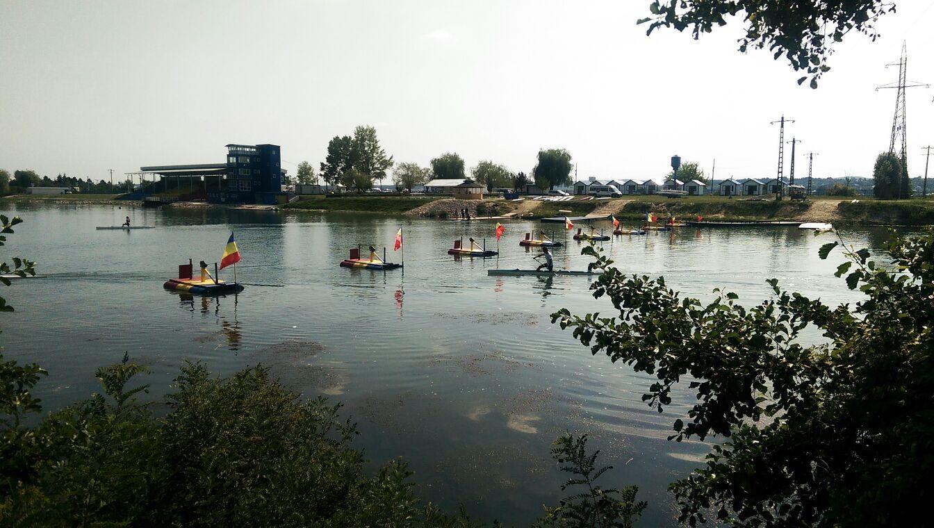 CSN Bascov-Budeasa este pregătit pentru Campionatul European de Kaiac-Canoe