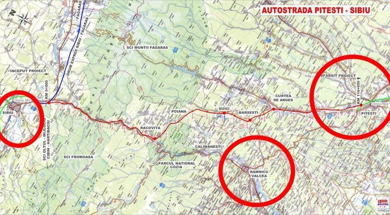 Licitaţiile pentru autostrada Piteşti-Sibiu, blocate!