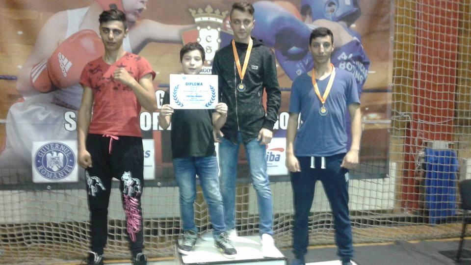 CS Preda a câștigat Cupa Chindiei de box la Târgoviște