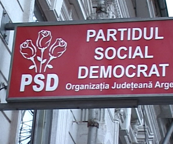 PSD contraatacă: proteste în Argeş