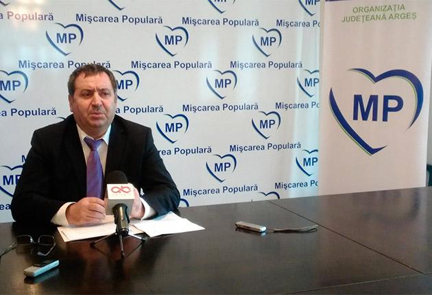 Cătălin Bulf, președintele MP Argeș: Scopul înnobilează mijloacele