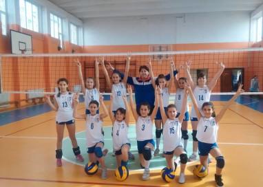 Minivolei: CS Dacia Mioveni a terminat pe primul loc în grupa G