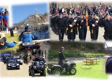Activităţi prilejuite de împlinirea a 166 de ani  de la înfiinţarea Jandarmeriei Române
