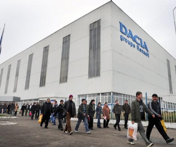 Dacia a produs mai puţine autoturisme