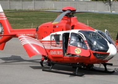 Un elicopter SMURD a preluat un bebeluș in stare gravă