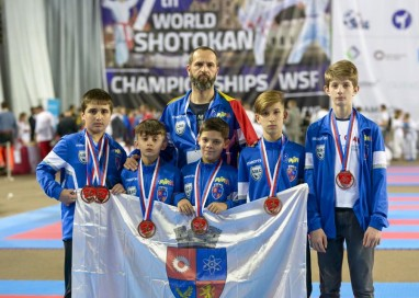 Karatiştii din Mioveni, medaliaţi la Campionatul Mondial