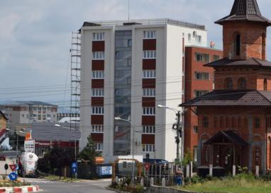 Un nou bloc, aproape de finalizare în Mioveni