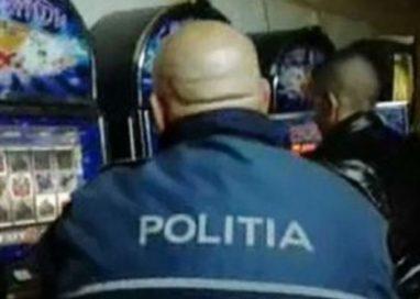 Tâlhărie la o sală de jocuri de noroc din Pitești
