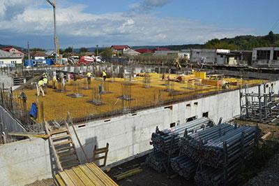 Lucrările la noul spital din Mioveni merg în linie dreaptă