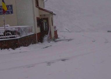 Informare meteo de vânt, polei şi zăpadă
