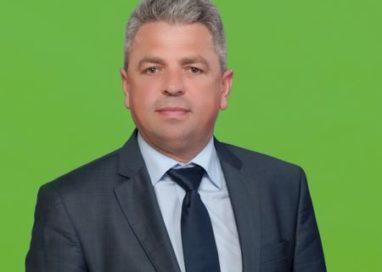Virgil Baciu, primarul comunei Corbi, vă urează