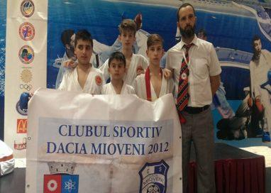 Karatiști de la CS Mioveni medaliați la Europene