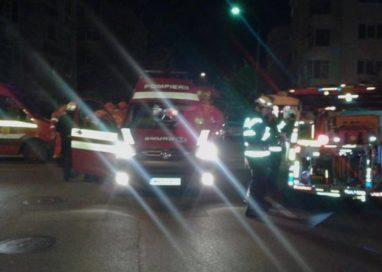 Accident grav pe DN65. Zece persoane au fost rănite