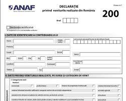 25 mai, termen limită pentru depunerea Declarației 200 la ANAF