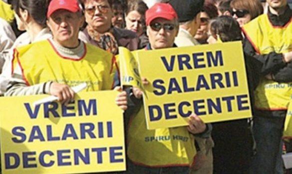Sindicaliştii din sănătatea argeşeană, proteste la Bucureşti