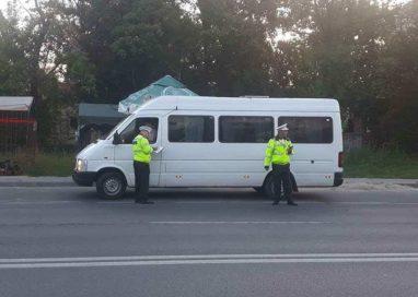 Poliția Locală Pitești – Controale în stațiile de autobuz