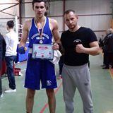 Florin Șerban și-a adjudecat medalia de bronz la Campionatele Naţionale de Box pentru tineret