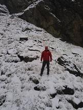 Prima ninsoare la munte. Cât măsoară stratul de zăpadă