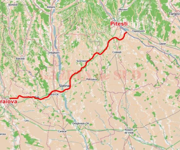 Prima amânare pentru drumul expres Piteşti-Craiova