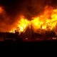 Bătrână moartă în incendiu la Godeni