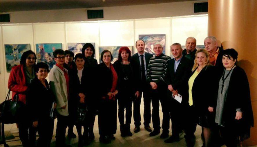 Simona Brătulescu, Eny Pavel şi Robert Tudorache, alături de artiştii argeşeni