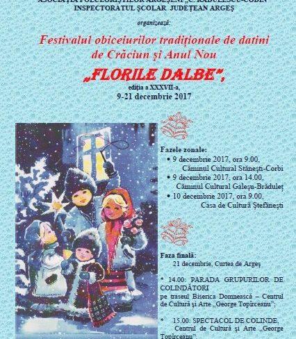 "Festivalul ""Florile Dalbe"" la Corbi"