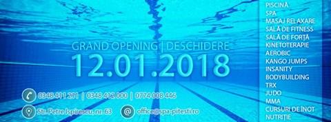 Se deschide cel mai modern centru spa şi fitness din Piteşti