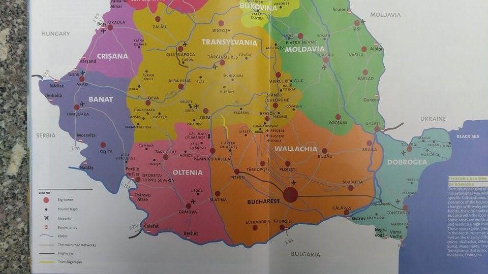 Transfăgărăsanul Pe Harta Romaniei La Expoziţia Internaţională De